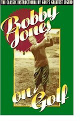 Bobby Jones On Golf Cover